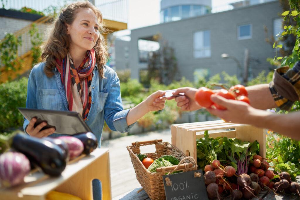Hofladen Vermarktung Einkommensquelle Landwirte Direktvermarktung Bauernhof Marketing für Landwirte